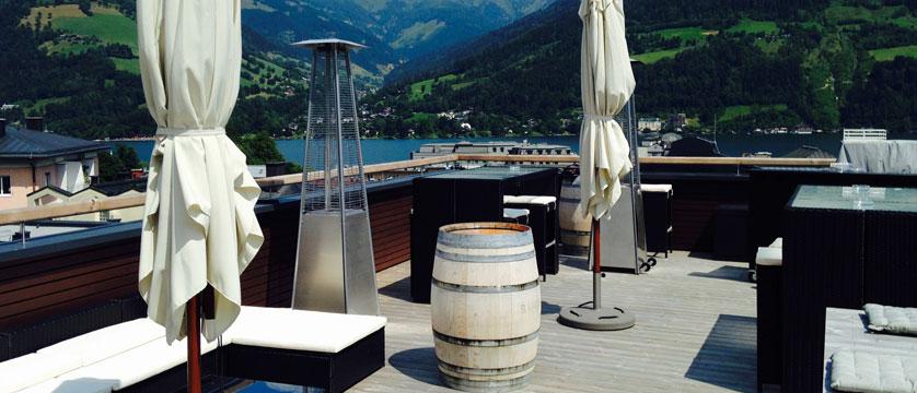 Hotel Heitzmann, Zell am See, Austria - Rooftop terrace.jpg
